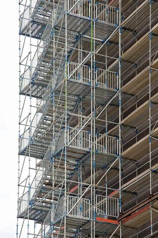 Escalier de façade
